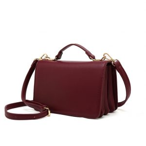 Red Mini Shoulder Bag