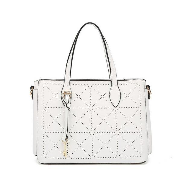 White Hanbag