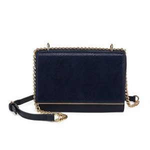 Navy Mini Shoulder Bag