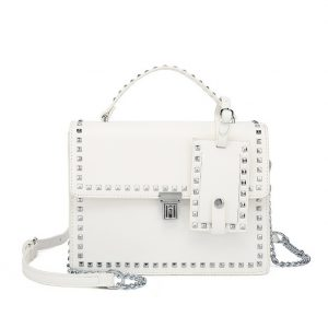 White Mini Shoulder Bag