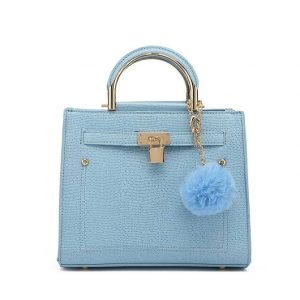 Blue Mini Shoulder Bag