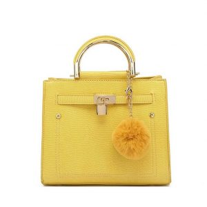 Yellow Mini Shoulder Bag