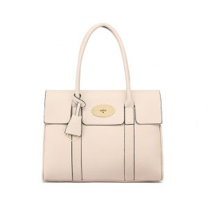 Nude Large Tote Shoulder Bag