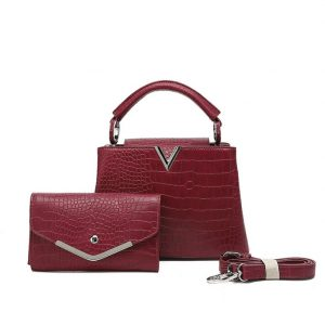 Red Bag with matching purse
