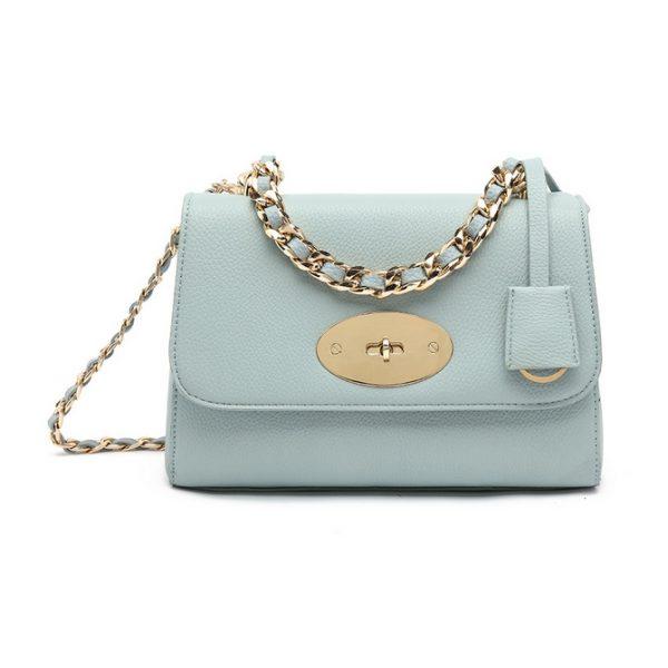 Light Blue Mini Shoulder Bag