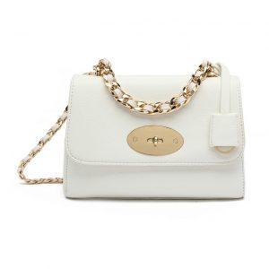White mini shoulder bag