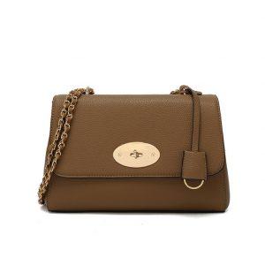 Taupe Crossbody Bag