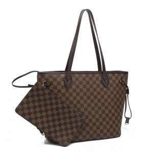 Brown Classic Tote Bag