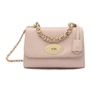 pink mini shoulder bag