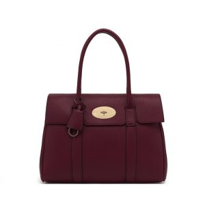 Wine Red Shoulder Bag
