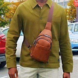 Brown Crossbody Sling Bag