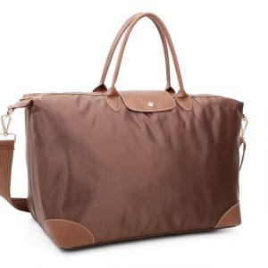 Brown Tote Shopper Bag