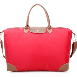 Orange Tote Shopper Bag